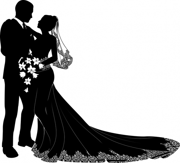 bride and groom vector free vector in encapsulated postscript eps rh all free download com bride and groom vector png bride and groom vector free download