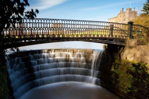 bridge cascade falls