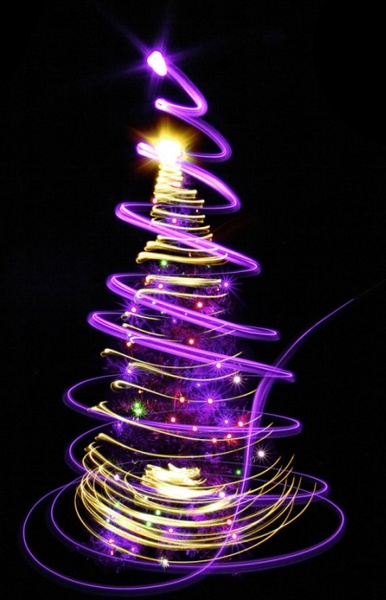 bright halo christmas tree 05 hd picture