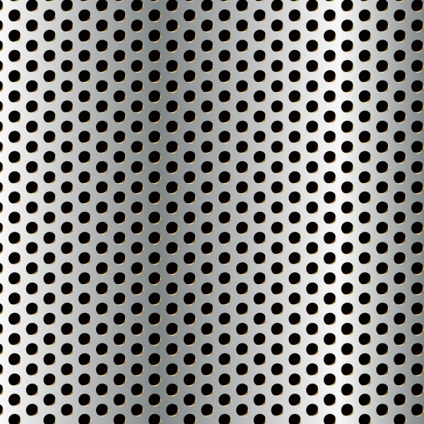 bright shiny metal pattern background realistic design style