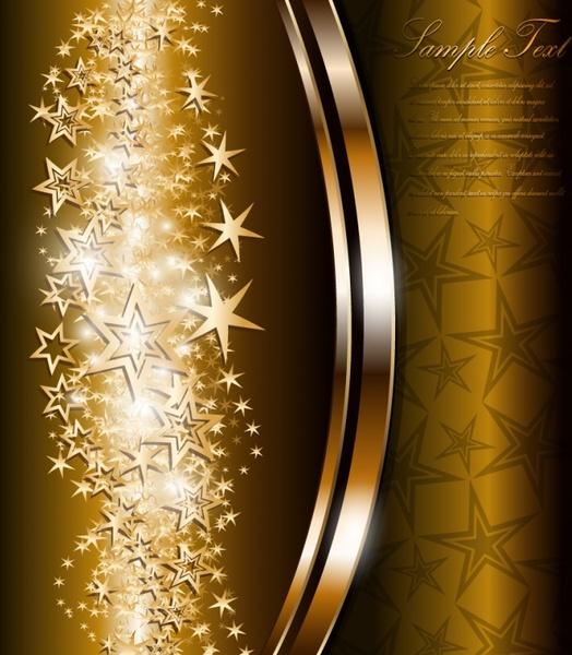 luxury background shiny sparkling stars decor