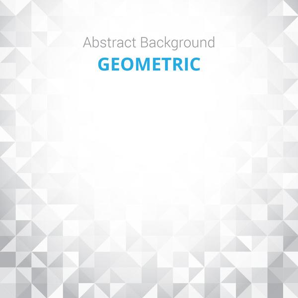 bright triangle geometric background