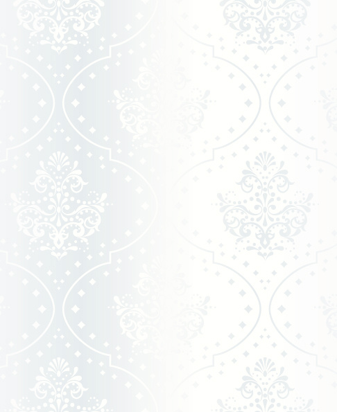 bright white floral vector backgrounds set