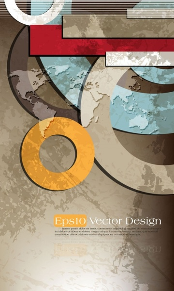 brilliant color circle 03 vector