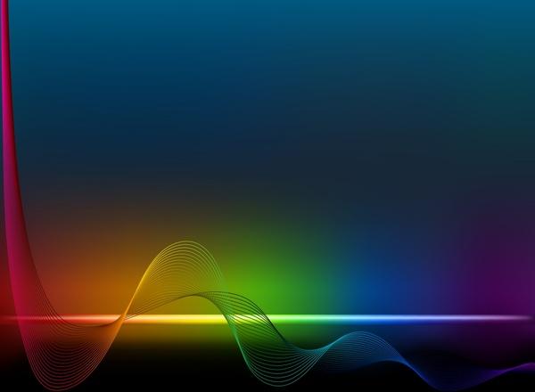 decorative background colorful dynamic lines motion modern design
