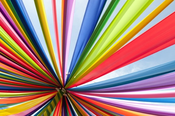 brilliant rainbow stripes background hd picture 2