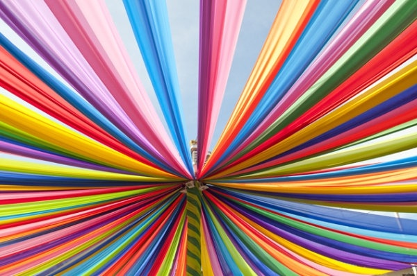 brilliant rainbow stripes background hd picture 4