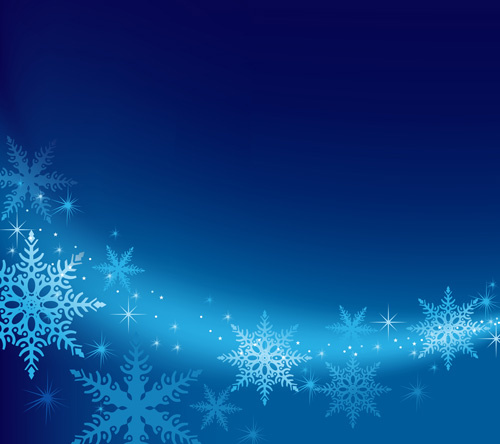 brilliant snowflakes winter vector backgrounds free vector. Black Bedroom Furniture Sets. Home Design Ideas