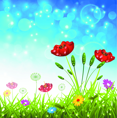 Natural landscape background clipart free vector download ...