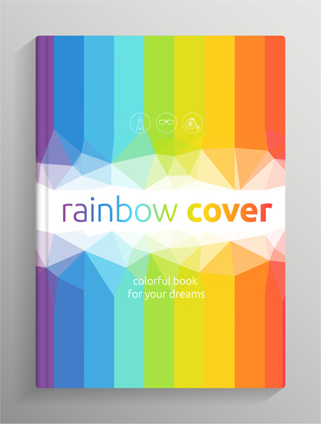 Brochure and book cover creative vector Free vector in Encapsulated ...
