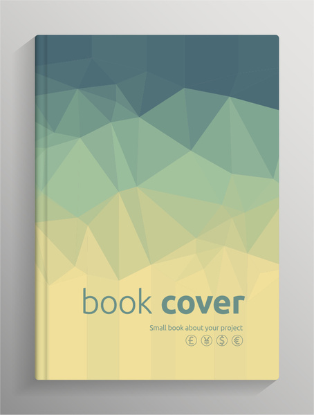 Book Cover Cdr : Book cover free vector download for