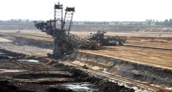 brown coal open-pit mining bucket wheel excavators