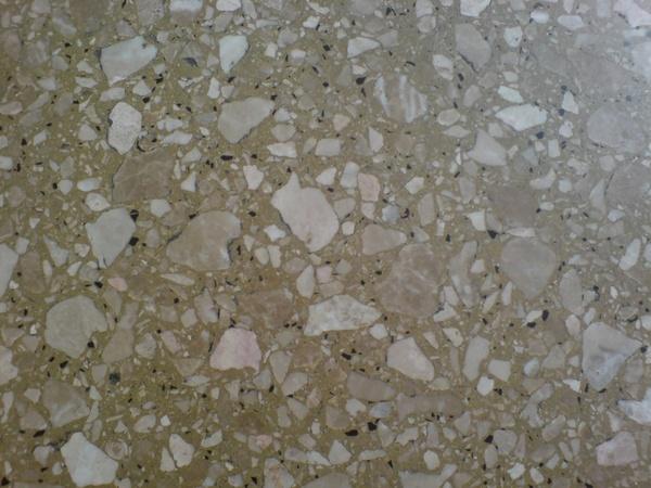 brown marble floor