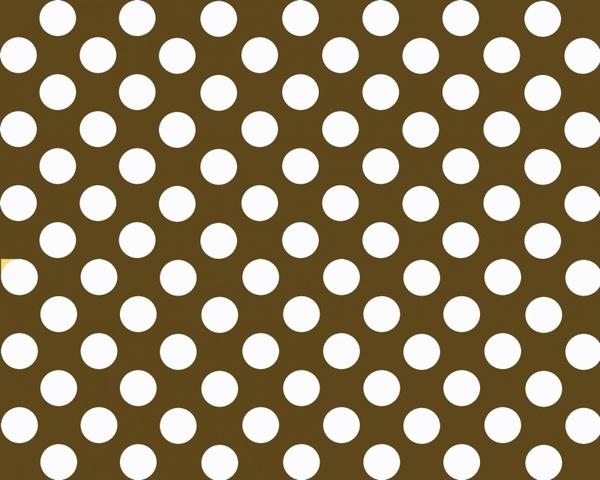 brown polka dot background