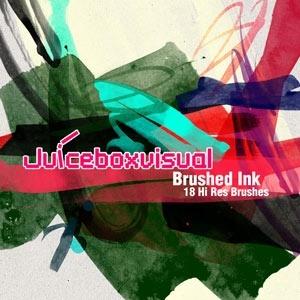 Brushed Ink Brushset