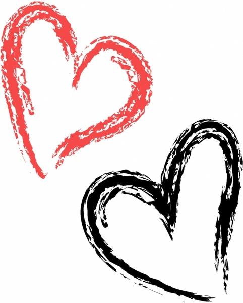 Brushstroke Heart