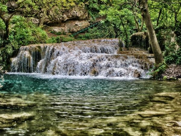 bulgaria krushuna waterfall cascade