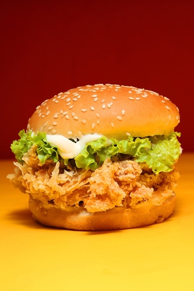 burgers and fried chickendefinition picture