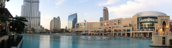 burj khalifa fountain downtown dubai