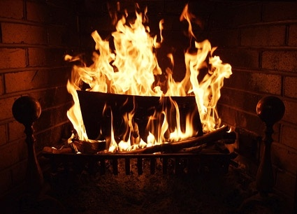 burning flame picture 2