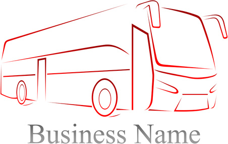 bus business background vector