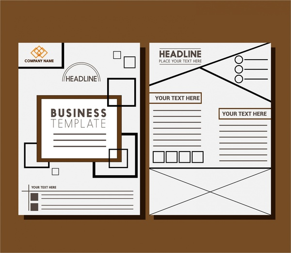 Magazine layout design template free vector download for Layout design online