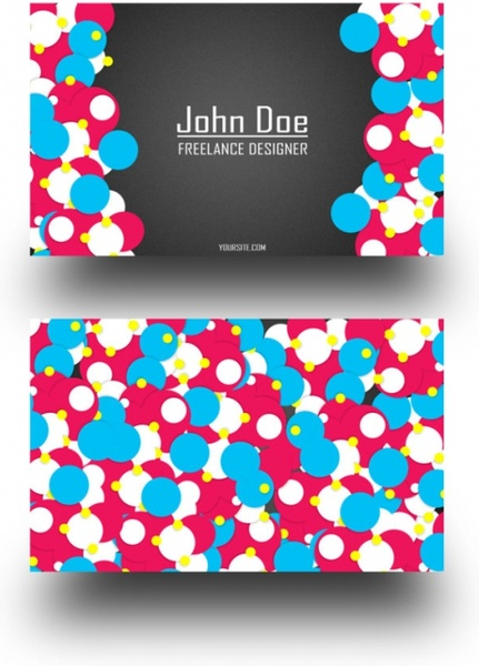business card design psd layered