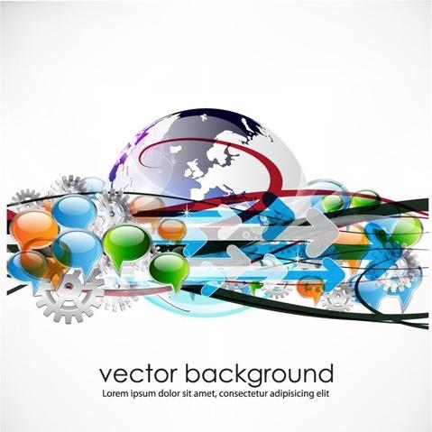 business concept dialog trend vector 4