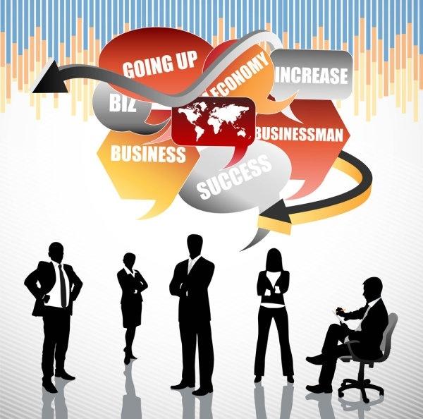 business concept elements 05 vector