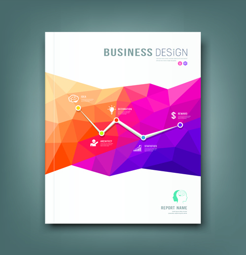 Business Cover Page Design Free Vector Download (19,134
