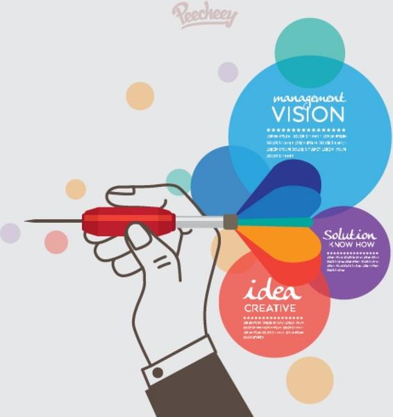 business goal marketing concept illustration free vector in adobe illustrator ai    ai   vector