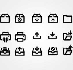 Business HTML Glyphs & Icons