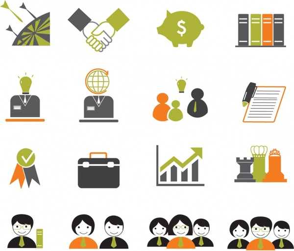 Business Icons Free Vector 1 30mb