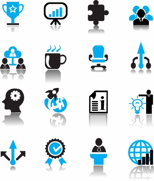 free vector business icons free vector download  34 137 Happy Service Anniversary Clip Art Happy Birthday Clip Art Blue