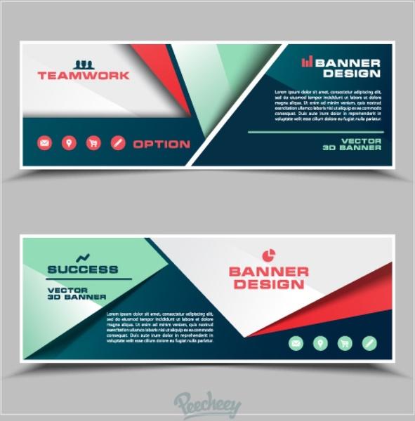 Business modern banner Free vector in Adobe Illustrator ai ...