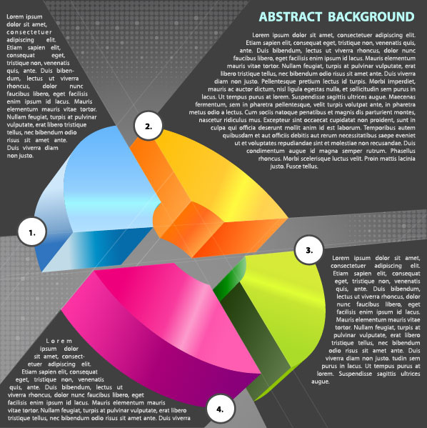 business style background template vector set
