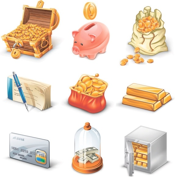business website icons 02 vector