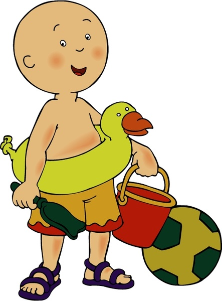 Caillou Free vector in Encapsulated PostScript eps ( .eps ...