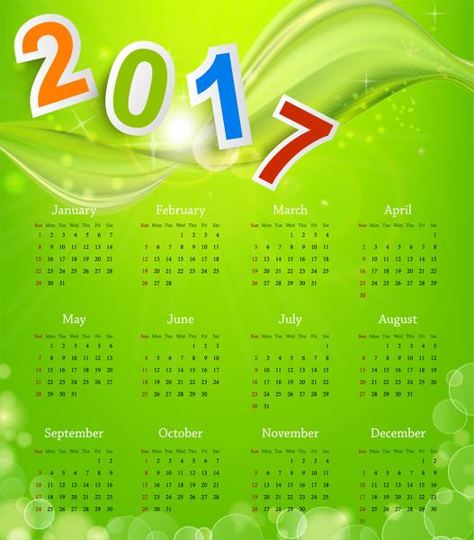Cover Calendar Design Vector : Calendar free vector download for