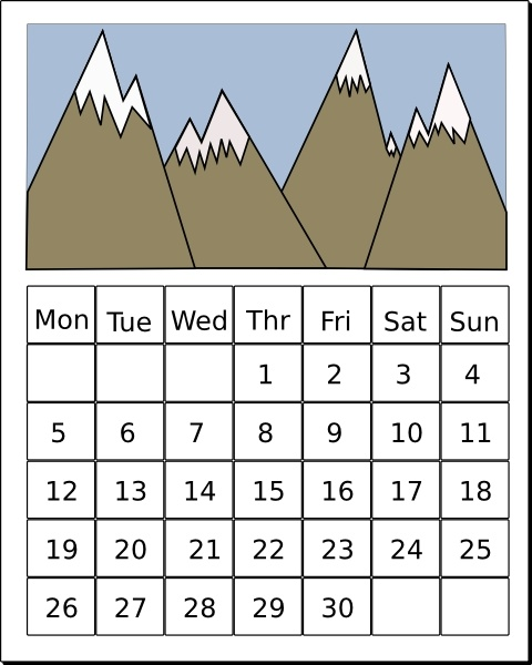 calendar clip art free vector in open office drawing svg svg rh all free download com free calendar clip art for november free clipart calendar months