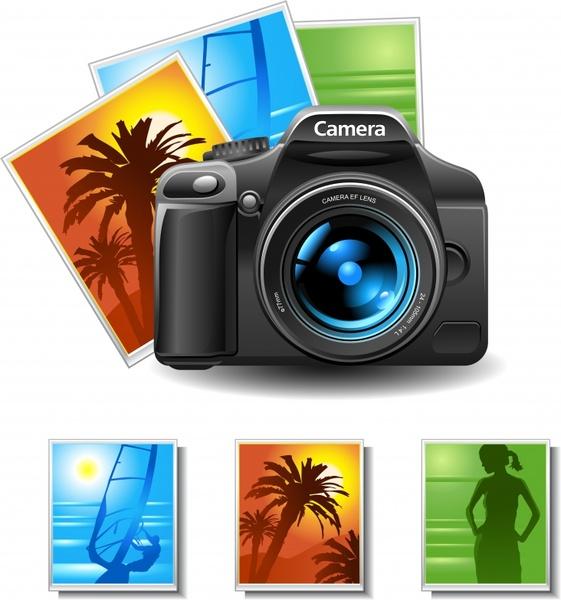 Vector Camera Lens Clip Art Free Vector Download 220,766 -8167