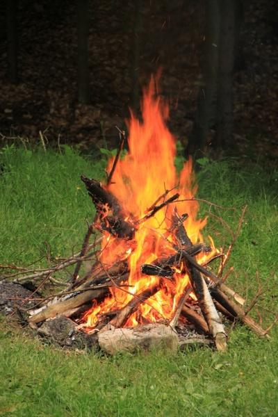 campfire celebration fire