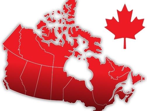 Canada Map Illustrator Canada Day Vector Map Free vector in Adobe Illustrator ai ( .ai