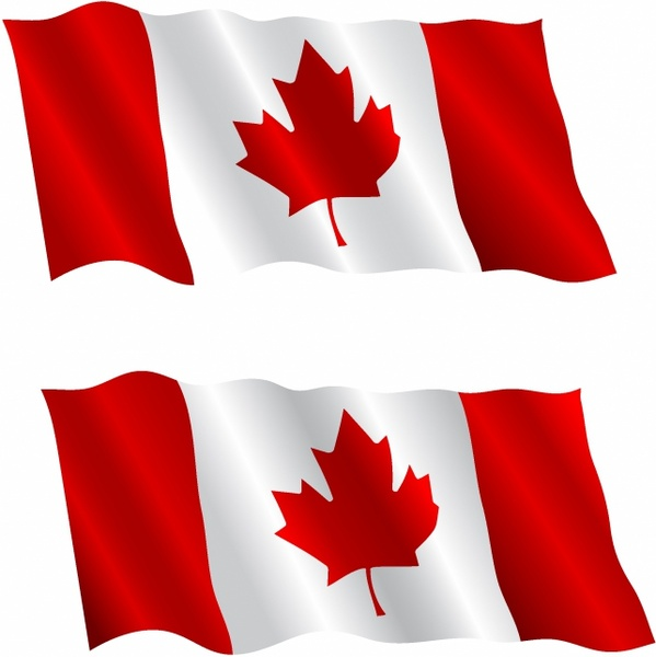 Canada flag background photo | free download.