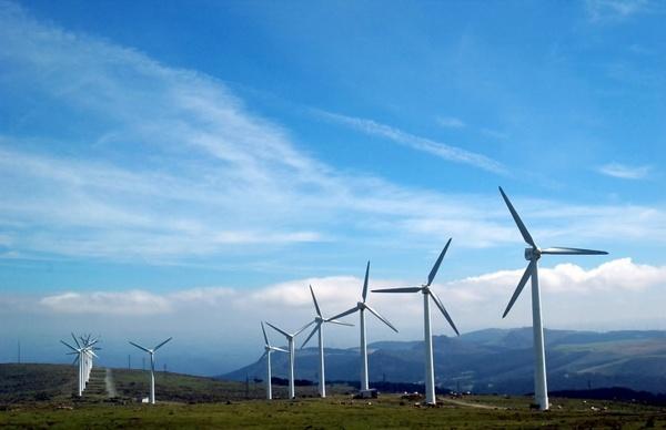 cape ortegal galicia windmills