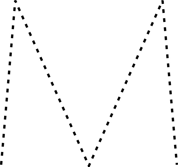 Capital Letter M Clip Art