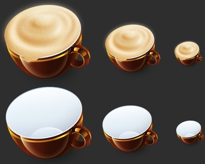 cappuccino icons pack