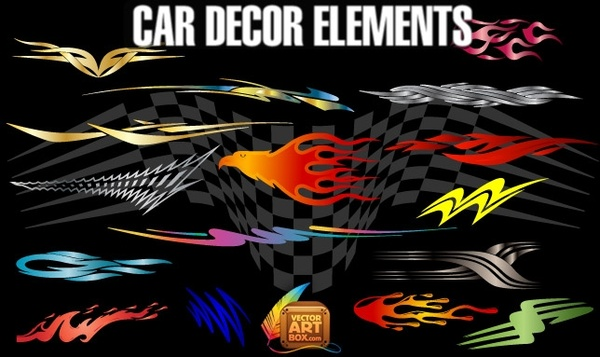 Car Decor Elements