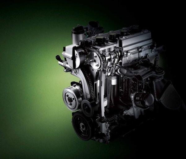 car engine structure