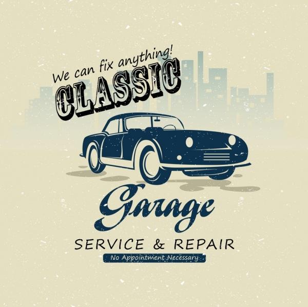 Car Garage Advertising